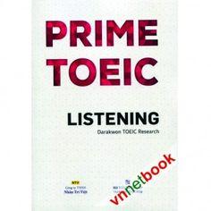 PRIME TOEIC LISTENING được tổng hợp từ kinh nghiệm của tác giả trong các kỳ thi TOEIC hy vọng sẽ giúp ích cho bạn đọc trong phần thi nghe của đề thi TOEIC.