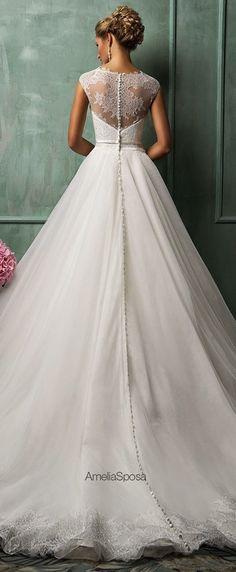 #Wedding #Dress Inspirations ..