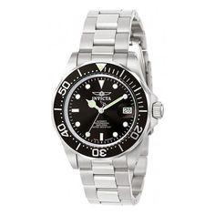 #Zales - #Invicta Men's Invicta Pro Diver Watch with Black Dial (Model: 9307) - AdoreWe.com