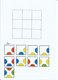 This website (in a foreign language*) provides puzzles that require the student to match up colored circles. It forces the student to think critically and problem solve. Puzzles For Kids, Worksheets For Kids, Math Games, Preschool Activities, Visual Perception Activities, Addition Activities, Elderly Activities, Early Literacy, Busy Book