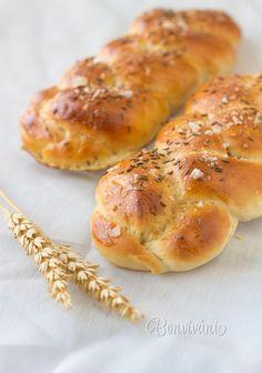 Bread Recipes, Baking Recipes, Czech Recipes, Home Baking, Bread And Pastries, Bread Rolls, Bread Baking, Croissant, Food Photography