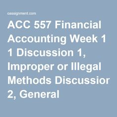 financial management discussion week 2 Management's discussion and analysis of financial condition  to read this management's discussion and  52-week fiscal year ending february 2,.