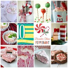 Peppermint Collage