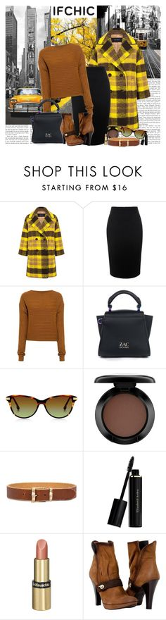 """IfChic Fall"" by polybaby ❤ liked on Polyvore featuring DC Shoes, Alaïa, Pink Tartan, Alexander McQueen, TIBI, ZAC Zac Posen, MAC Cosmetics, Karen Walker, Elizabeth Arden and Dr.Hauschka"