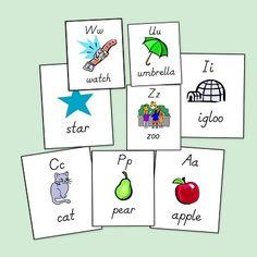 Bits de imágenes de Vocabulario Inglés