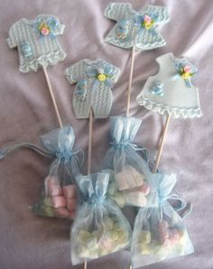 Unique Baby Shower Favors | ... favors are truly elegant baby clothes baby shower favor picks | Source