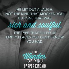 THE WONDER OF YOU by Harper Kincaid – Susan's Books I Like