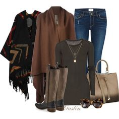 casual style by stacy-gustin on Polyvore featuring moda, Rick Owens, Paige Denim, Free People, Mulberry, Henri Bendel, Karen Walker and ootd