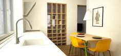 Návrh kuchyne - interiér tehlového bytu, Stará Turá - Kitchen interior by Archilab
