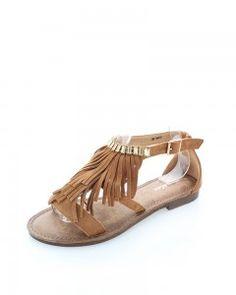 Škoricové sandále Gelin