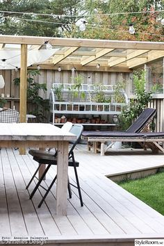 trädäck,uteplats,altan,utemöbler,bord