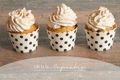 Butternut Kürbis Cupcakes mit Buttersteuseln