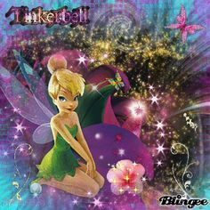 The Tinkerbell From The Movie! I Love That Movie! Original Blingee By:CassandraJD Copyright 2010!