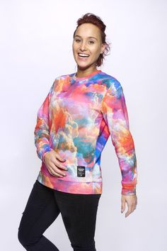 SK-EYE unisex sweater Made on 100% cotton #breakingrocks #sky #clouds #eyes…