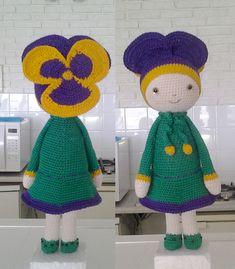 Violet Vicky flower