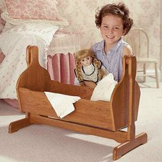 Child's Toy Pendulum Cradle