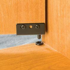 Simplex Concealed Hinge - Black