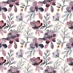 Vintage Flowers Wallpaper, Flower Wallpaper, Pattern Wallpaper, Pink Wallpaper, Pastel Floral, Floral Prints, Flower Texture, Flower Doodles, Mandala Coloring