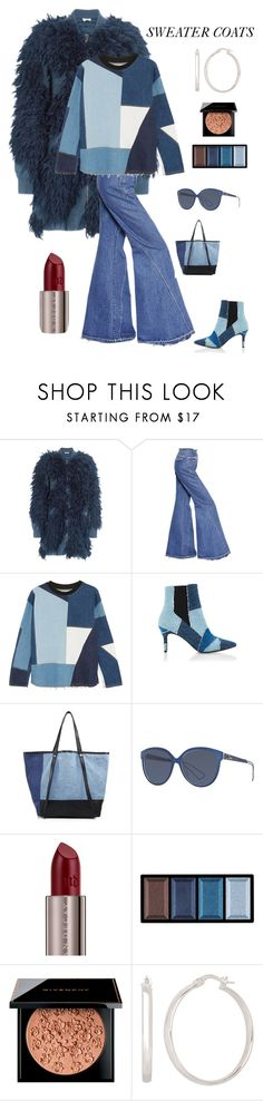 """""""Sweater Coats"""" by kotnourka ❤ liked on Polyvore featuring 3.1 Phillip Lim, Esteban Cortazar, Victoria, Victoria Beckham, Kalda, See by Chloé, Christian Dior, Urban Decay, Clé de Peau Beauté, Givenchy and Lord & Taylor"""