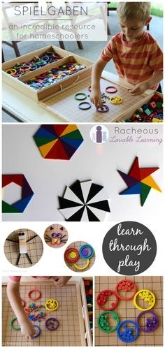 Spielgaben | an incredible resource for homeschoolers - Montessori and Reggio learning materials