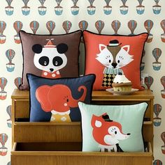 darling clementine pillows
