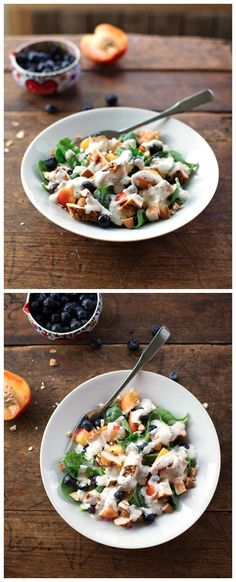 Chicken and Nectarine Poppy Seed Salad Recipe