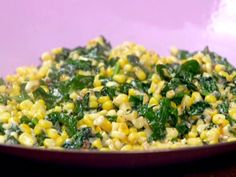Garlicky Creamed Corn and Spinach