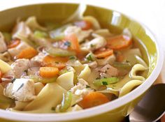 Lemongrass Chicken Soup Light and nutritious, this is a perfect soup for anyone.