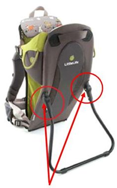 LittleLife Baby Carriers Recalled by Lifemarque Due to Fall Hazard