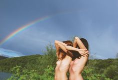 anitadada:    Under the rainbow series.  September, 2011  Anita Dadà