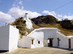 one of the icons of Guadix, Granada - a cave house! © Robert Bovington  http://bovingtonbitsandblogs.blogspot.com.es/