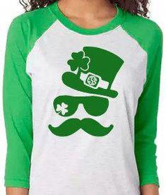 a19c5aa57978 Monogrammed St Patrick's Day Shirt - St Patrick's Day Shirt- My lucky Tee -  Shamrocks