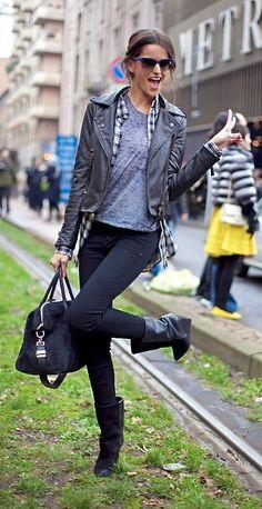 Izabel Goulart - street style
