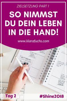 WARUM und WIE ich mir Ziele setze - Alles, was du zum Thema Zielsetzung wissen musst - KlaraFuchs.com