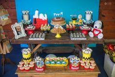 Decoração Snoopy By Carol Festiva – Blog Inspire sua Festa