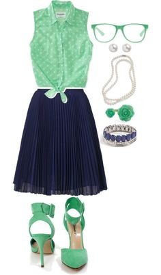 """""""retro geek chic!"""" by deschae on Polyvore"""
