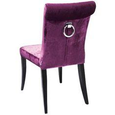 ostatnia krzesło z kołatką cintura purple ring, kare design