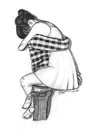 "a good hug.preferably a ""friend"" hug. Cute Couple Drawings, Love Drawings, Drawing Sketches, Art Drawings, Drawing Ideas, Drawings Of Couples, Sketches Of Love, Simple Drawings, Boy Drawing"