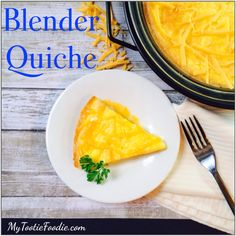 Egg Fast Blender Quiche