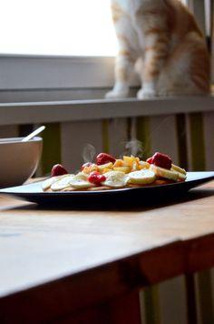 Nie wiem jak mogłam wcześniej nie wpaść na to, że omlet na słodko to rewelacyjny sposób na początek dnia. Jest puszysty, sycący i po pr...