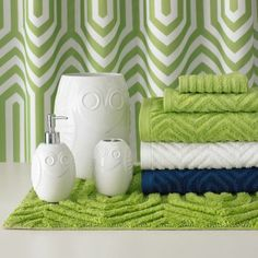 Kids bathroom?  Happy Chic by Jonathan Adler Charlotte Bath Collection.