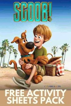 Scoob! Free Activity Sheets and Coloring Pages - Cool Moms Cool Tips