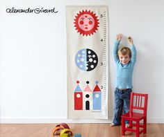 Sun Moon growth chart by Alexander Girard