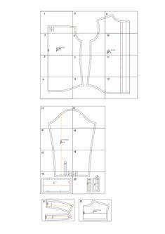 レディースシャツ・ブラウスの無料型紙と作り方 | ヘルカ + ハンドメイド