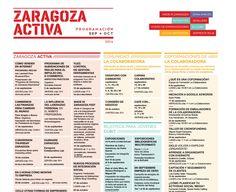 Comparto el calendario de eventos de Zaragoza Activa (C/ Mas de las Matas 20, Zaragoza). Incluye los de La Colaboradora. Os recuerdo que el 24S está la coformación que doy sobre 'Cómo planificar tu actividad Social Media'. ¡Apuntaos a los eventos! Hay mucho, buenos y muy variados. #ZaragozaACtiva #formación #LaColaboradora #emprendedores
