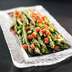 Quick, Easy & Delicious Marinated Asparagus Recipe -  by Organic Gardening