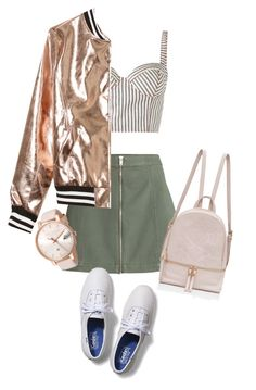 """OOTD"" by maize-xx on Polyvore featuring Keds, Rosie Assoulin, Sans Souci and Ted Baker"