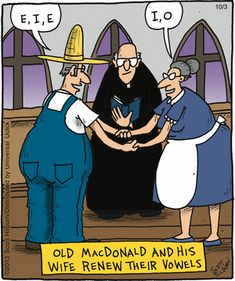 """""""Renewing their vowels..."""" The Argyle Sweater Comic Strip, October 03, 2013 on GoComics.com"""