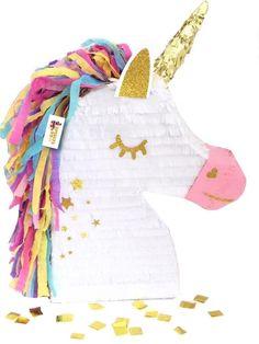Unicorn Pony Pinata on Etsy Birthday Pinata, Unicorn Themed Birthday Party, 1st Birthday Parties, Unicorn Pinata, Unicorn Party, Cute Pokemon, Art For Kids, Emoticon, Ideas Party
