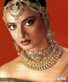 Beautiful actress Rekha